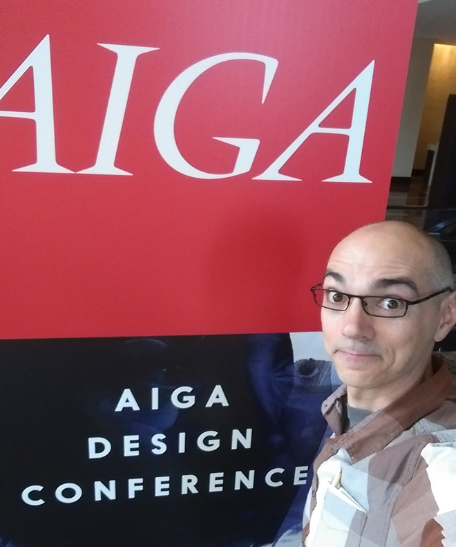 Arriving at AIGA