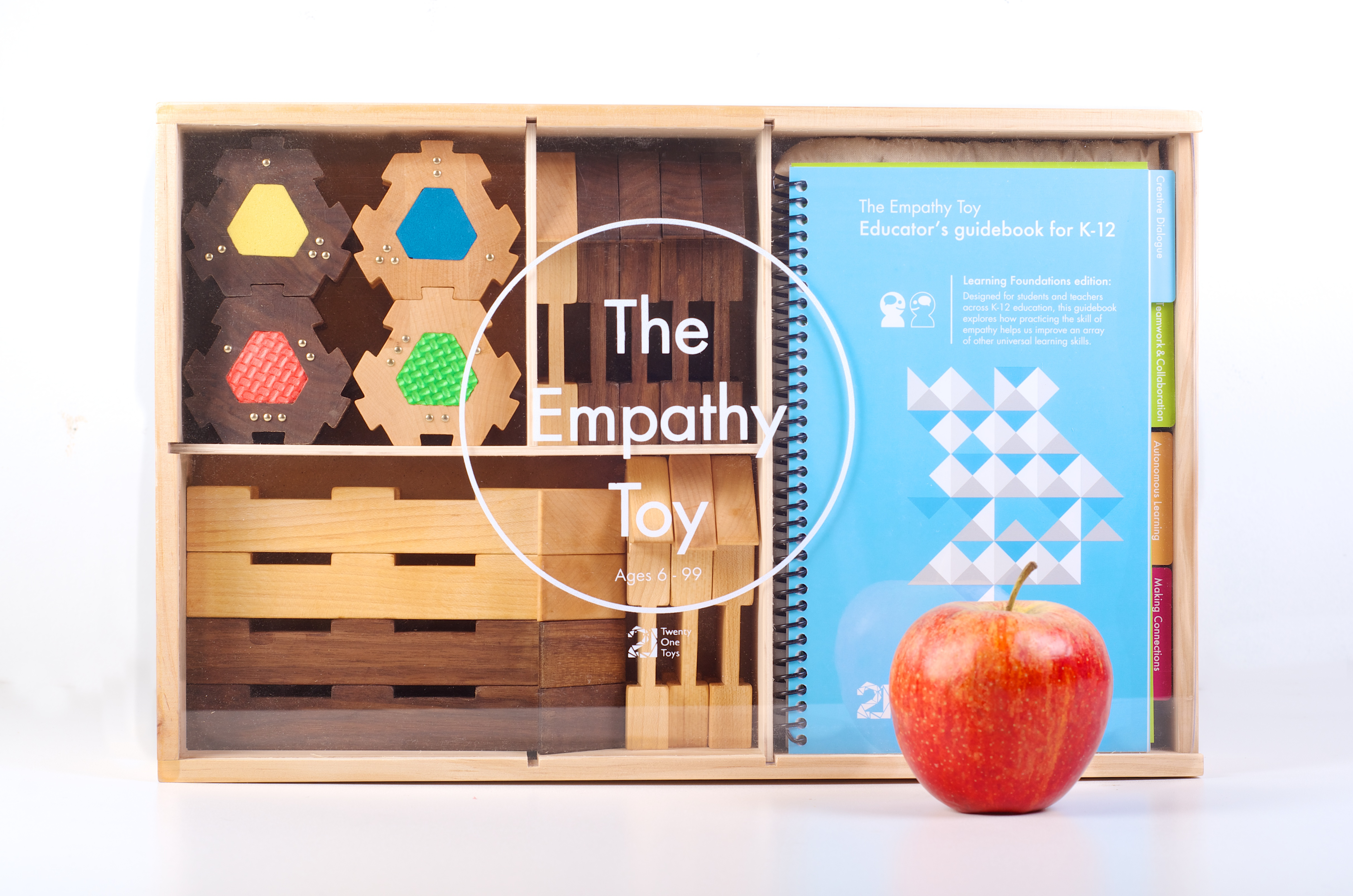 The Empathy Toy builds trust, improves communication and is an amazing tool to help people think differently.