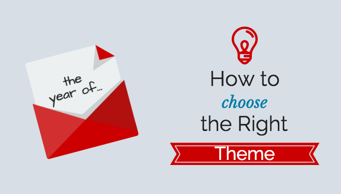 How to Choose the Right Theme