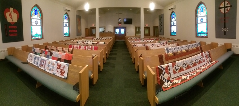 Quilts-in-church