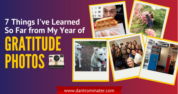 My Year of Gratitude Photos
