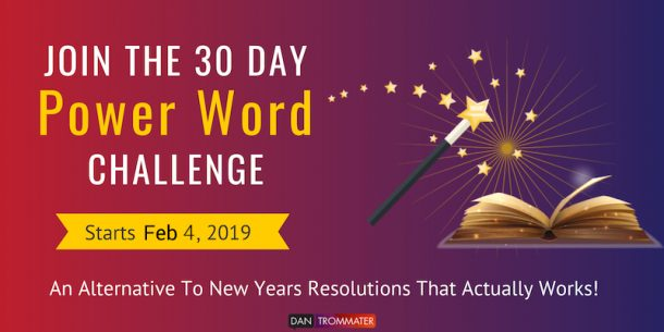 Join the Power Words Challenge